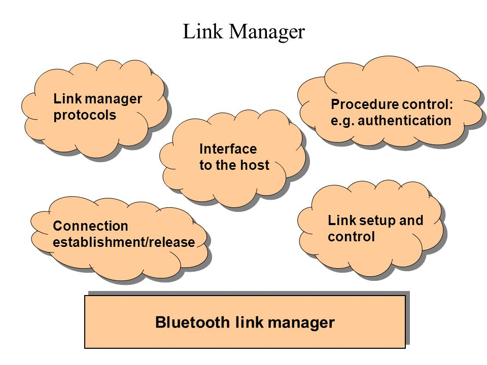 Bluetooth link manager