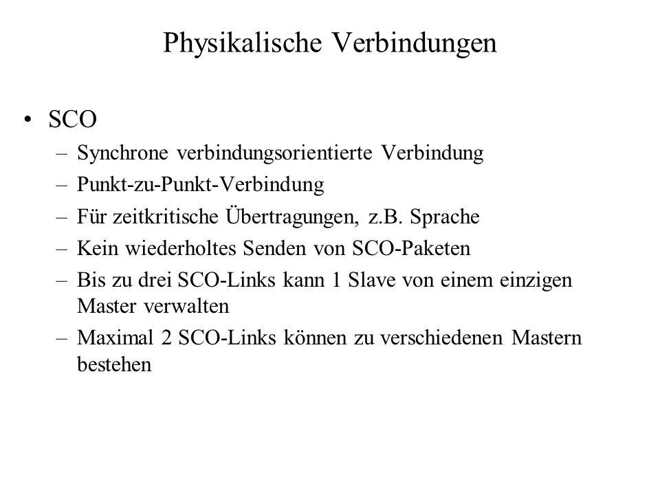 Physikalische Verbindungen