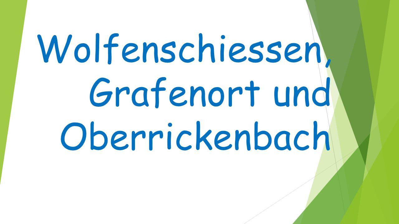 Wolfenschiessen, Grafenort und Oberrickenbach