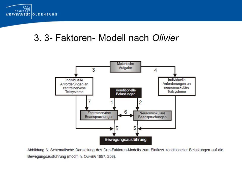 3. 3- Faktoren- Modell nach Olivier