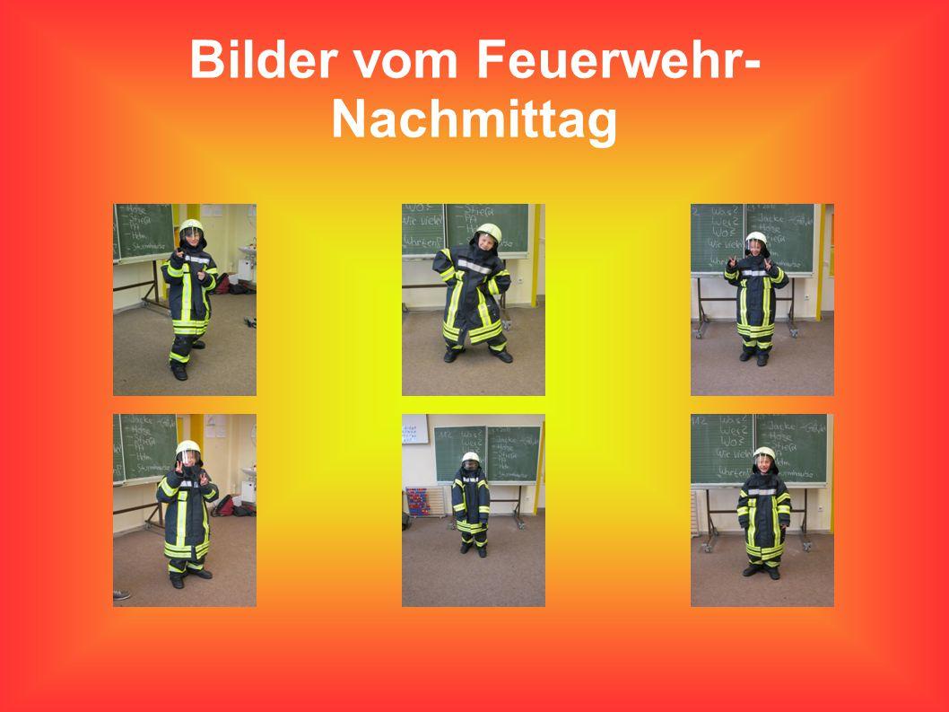 Bilder vom Feuerwehr-Nachmittag