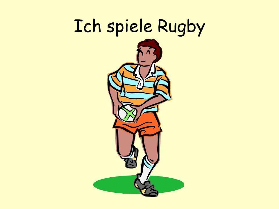 Ich spiele Rugby