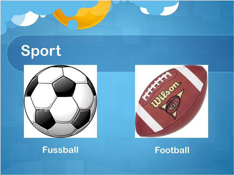 Sport Fussball Football