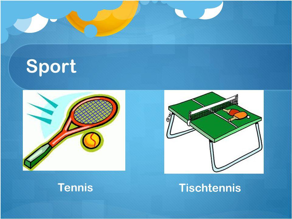 Sport Tennis Tischtennis