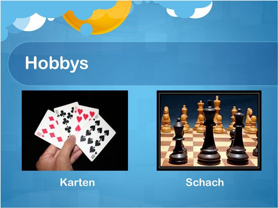 Hobbys Karten Schach