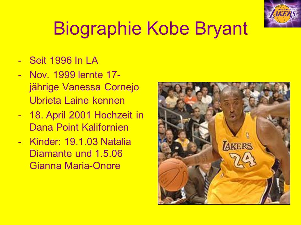 Biographie Kobe Bryant