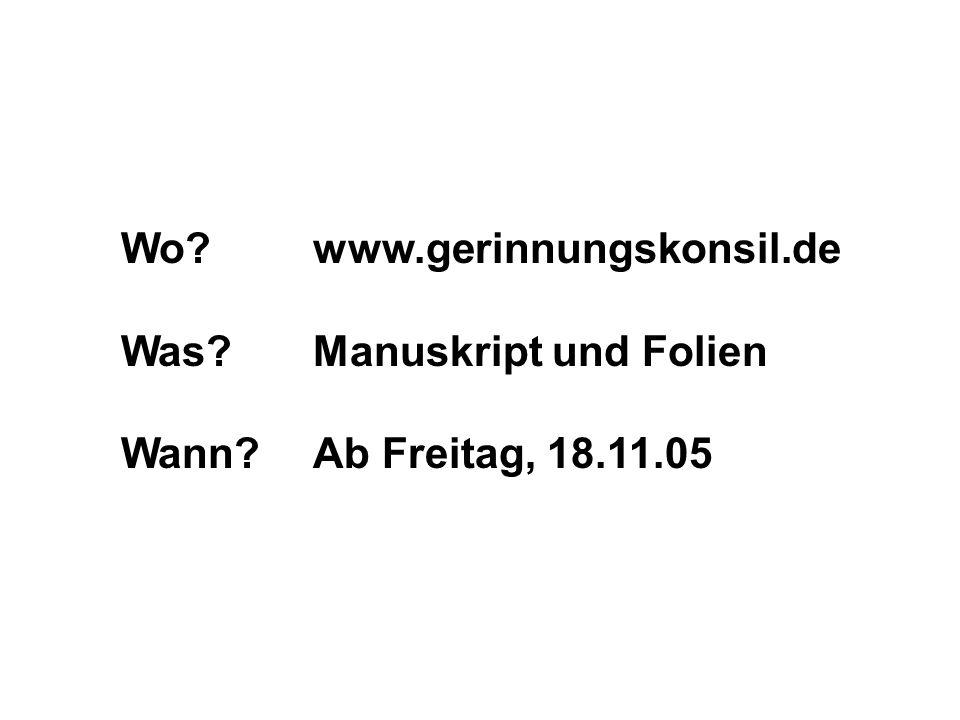 Wo www.gerinnungskonsil.de