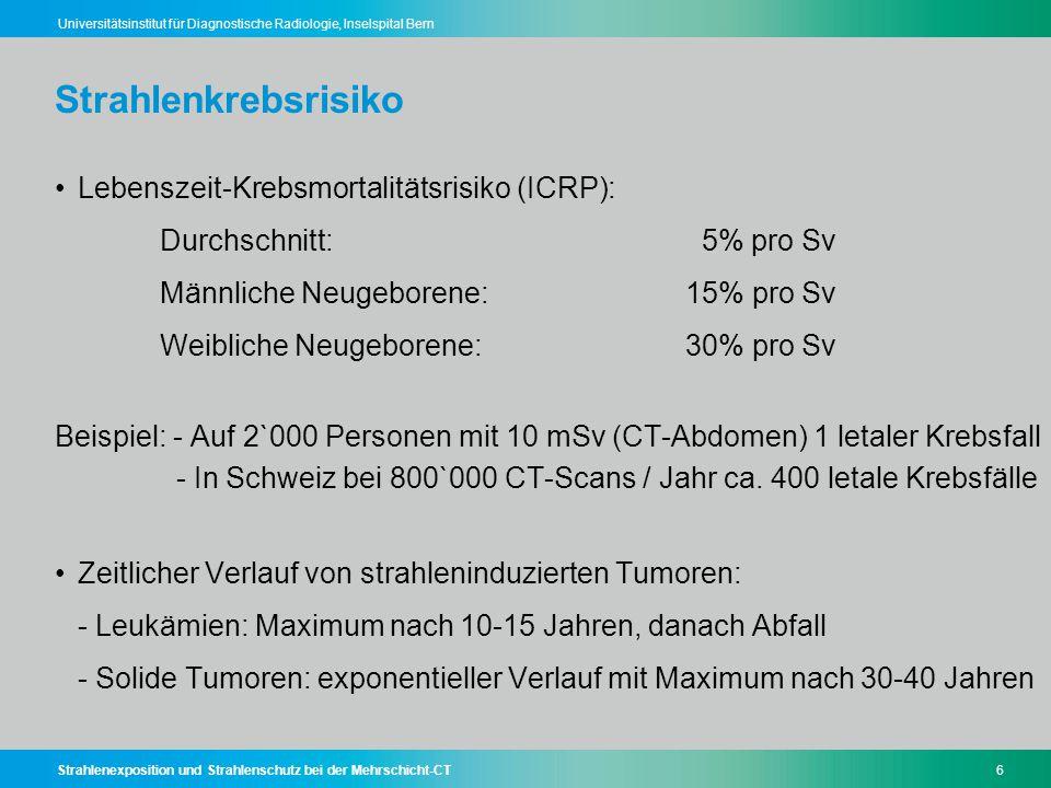 Strahlenkrebsrisiko
