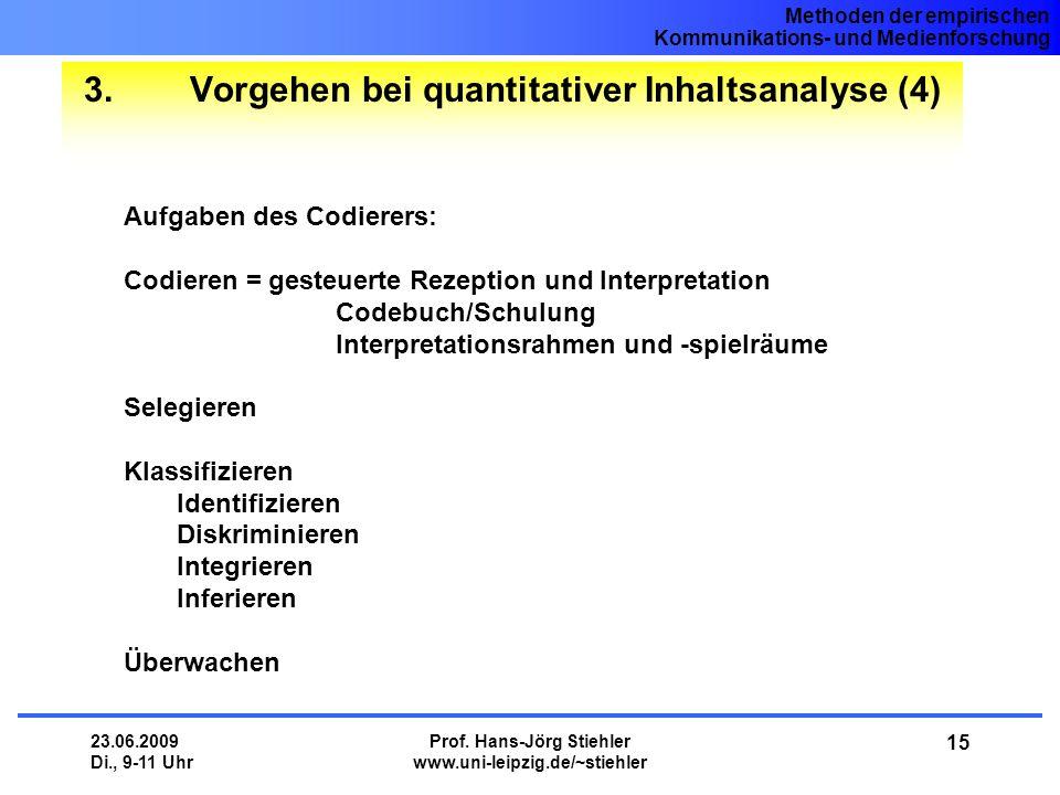 3. Vorgehen bei quantitativer Inhaltsanalyse (4)