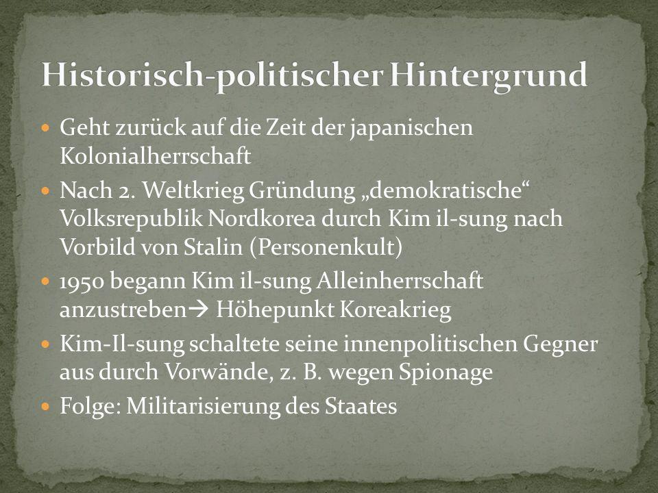 Historisch-politischer Hintergrund