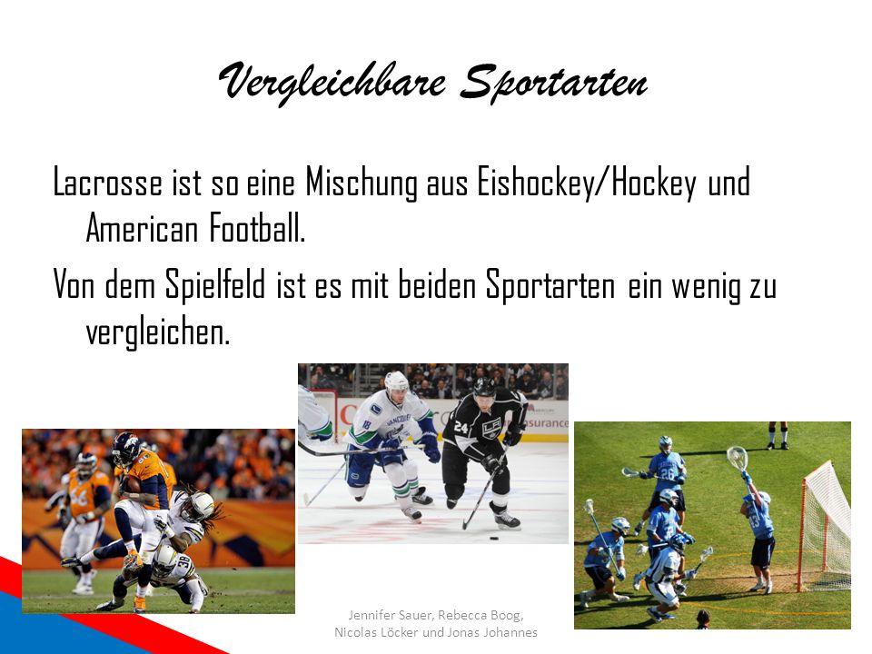 Vergleichbare Sportarten