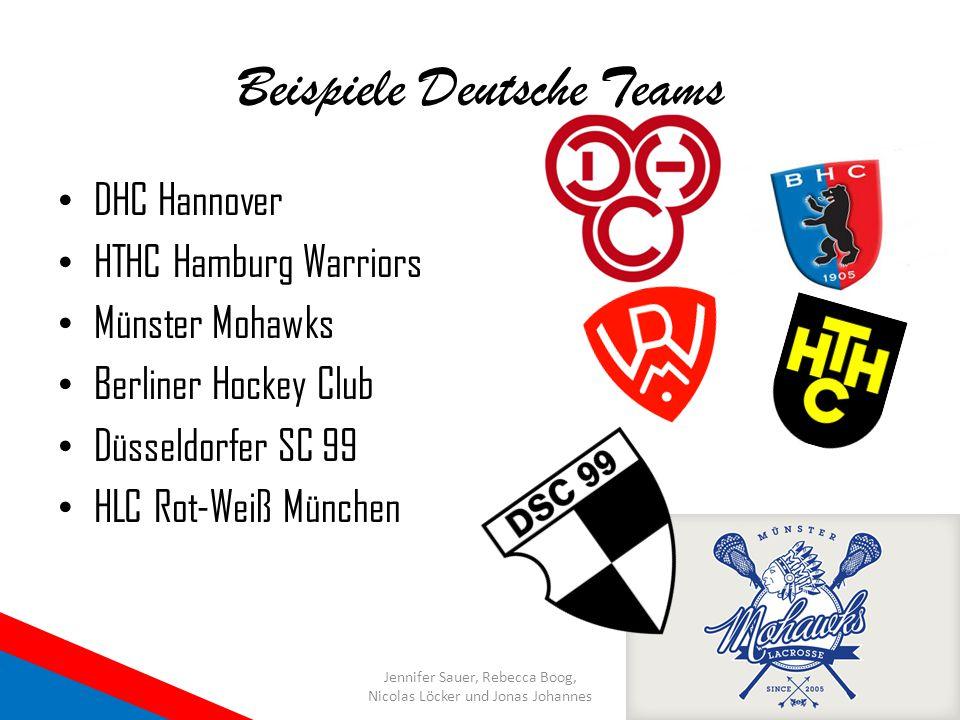 Beispiele Deutsche Teams