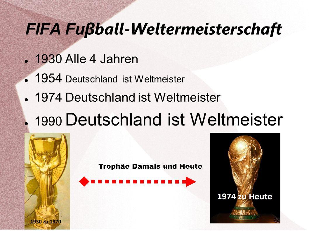 FIFA Fuβball-Weltermeisterschaft