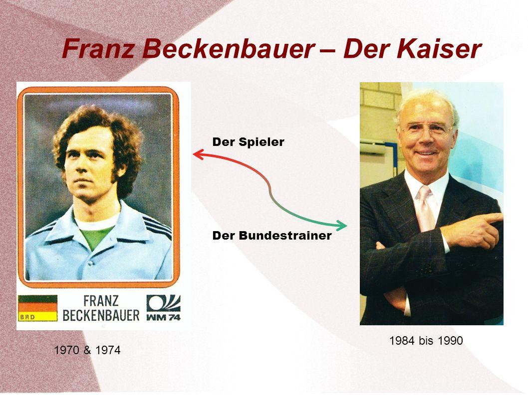 Franz Beckenbauer – Der Kaiser