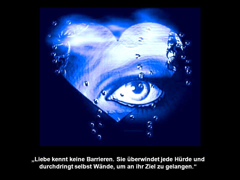 """""""Liebe kennt keine Barrieren"""