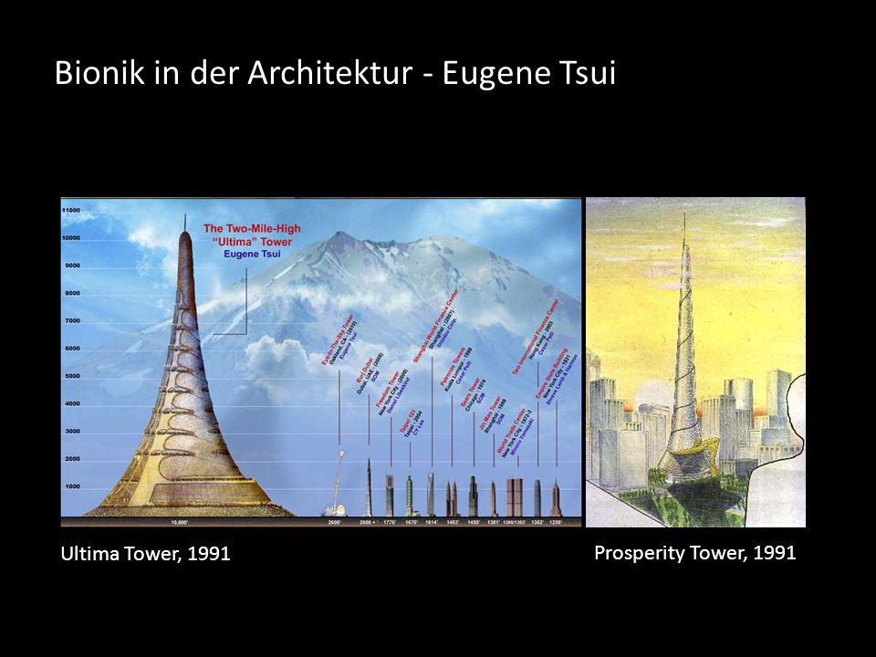 Bionik in der Architektur - Eugene Tsui