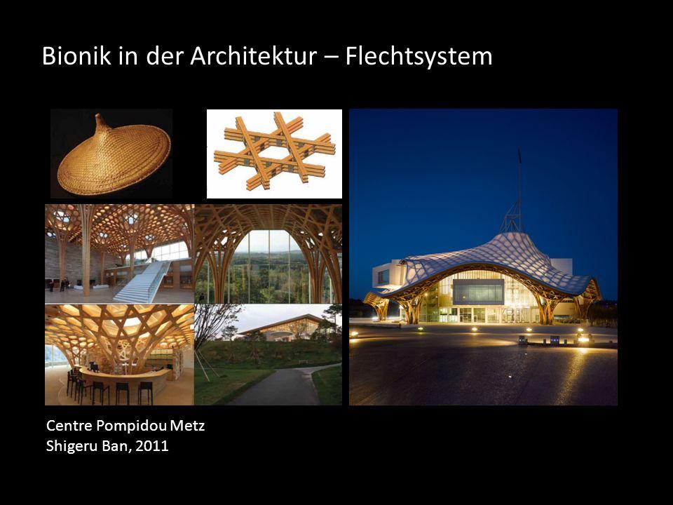 Bionik in der Architektur – Flechtsystem