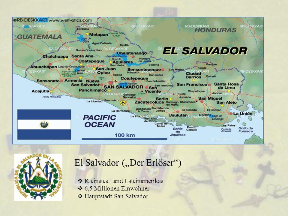 """El Salvador (""""Der Erlöser )"""