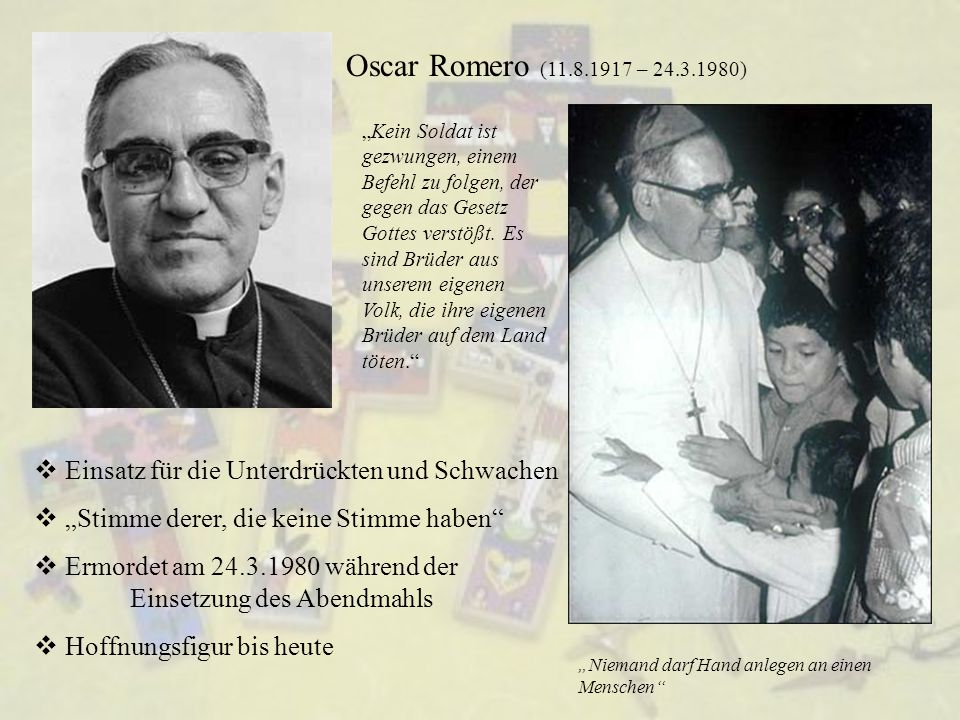 Oscar Romero (11.8.1917 – 24.3.1980)