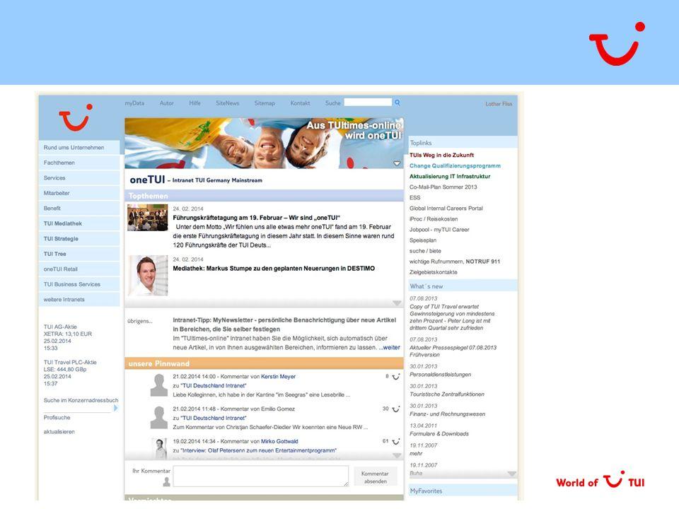TUI Consulting & Services GmbH | OneTUI – Impulspapier | 09. 04