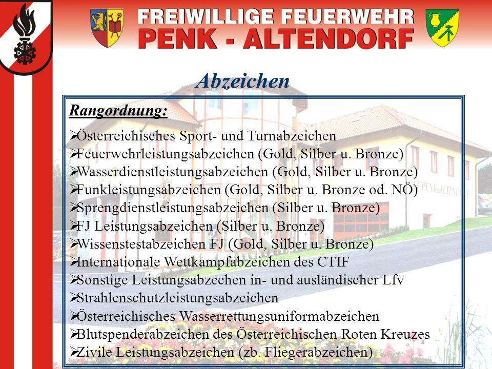 Abzeichen Rangordnung: Österreichisches Sport- und Turnabzeichen