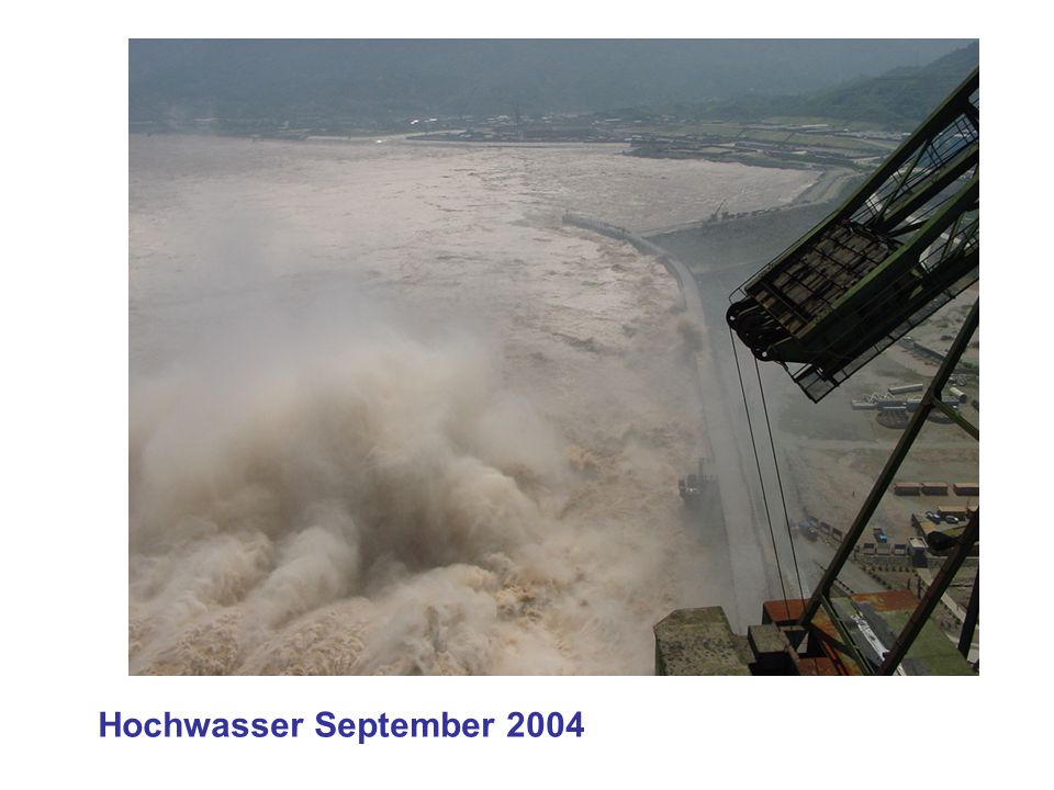 Hochwasser September 2004