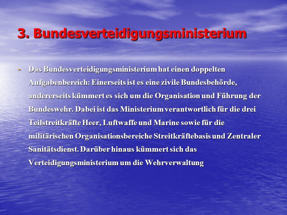 3. Bundesverteidigungsministerium