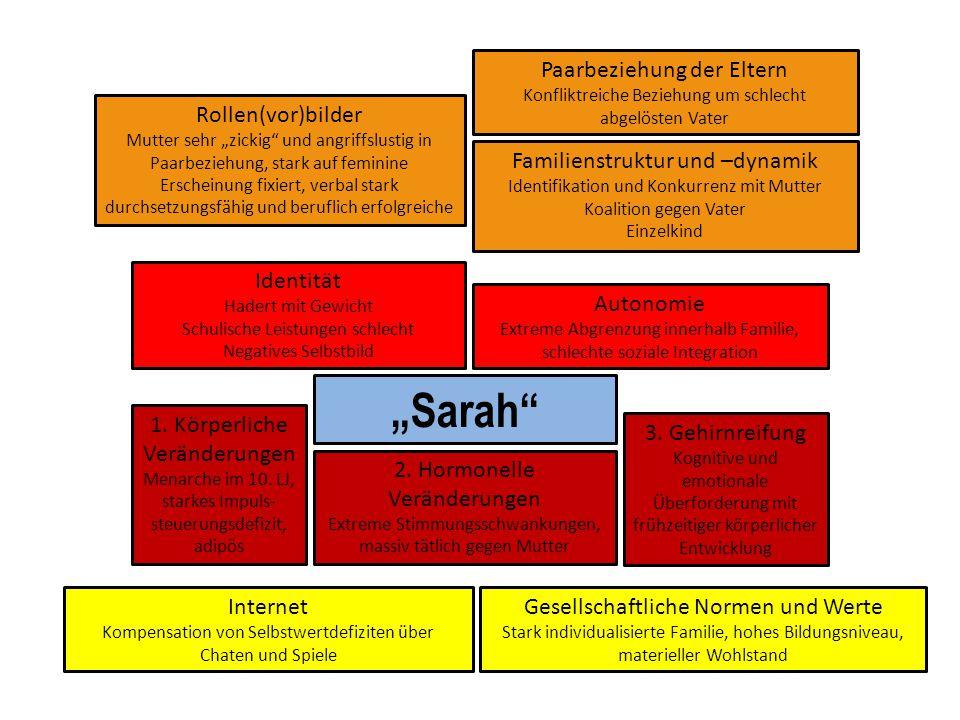 """""""Sarah Paarbeziehung der Eltern Rollen(vor)bilder"""