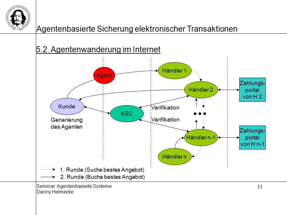 5.2. Agentenwanderung im Internet