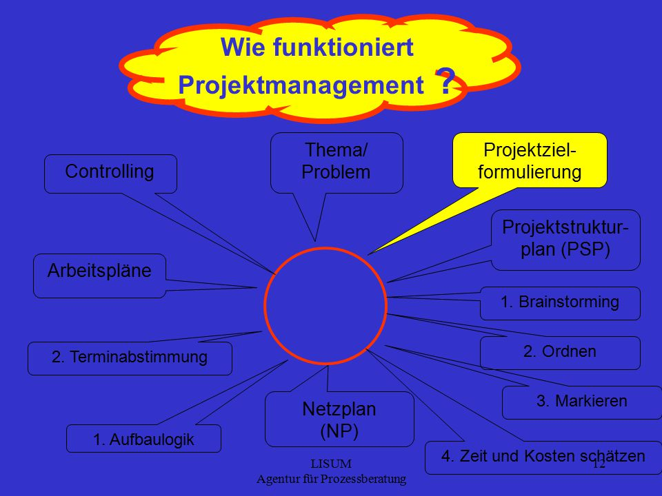 Wie funktioniert Projektmanagement