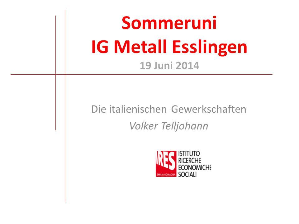 Sommeruni IG Metall Esslingen 19 Juni 2014