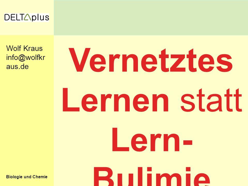 Vernetztes Lernen statt Lern-Bulimie