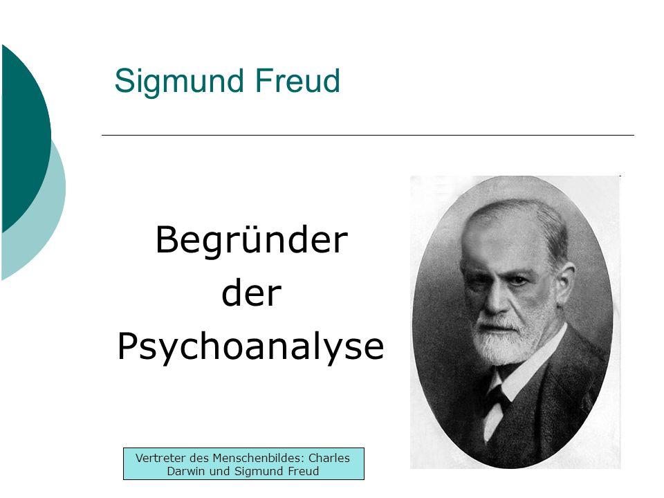 Begründer der Psychoanalyse