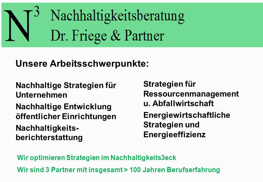 N³ Nachhaltigkeitsberatung Dr. Friege & Partner