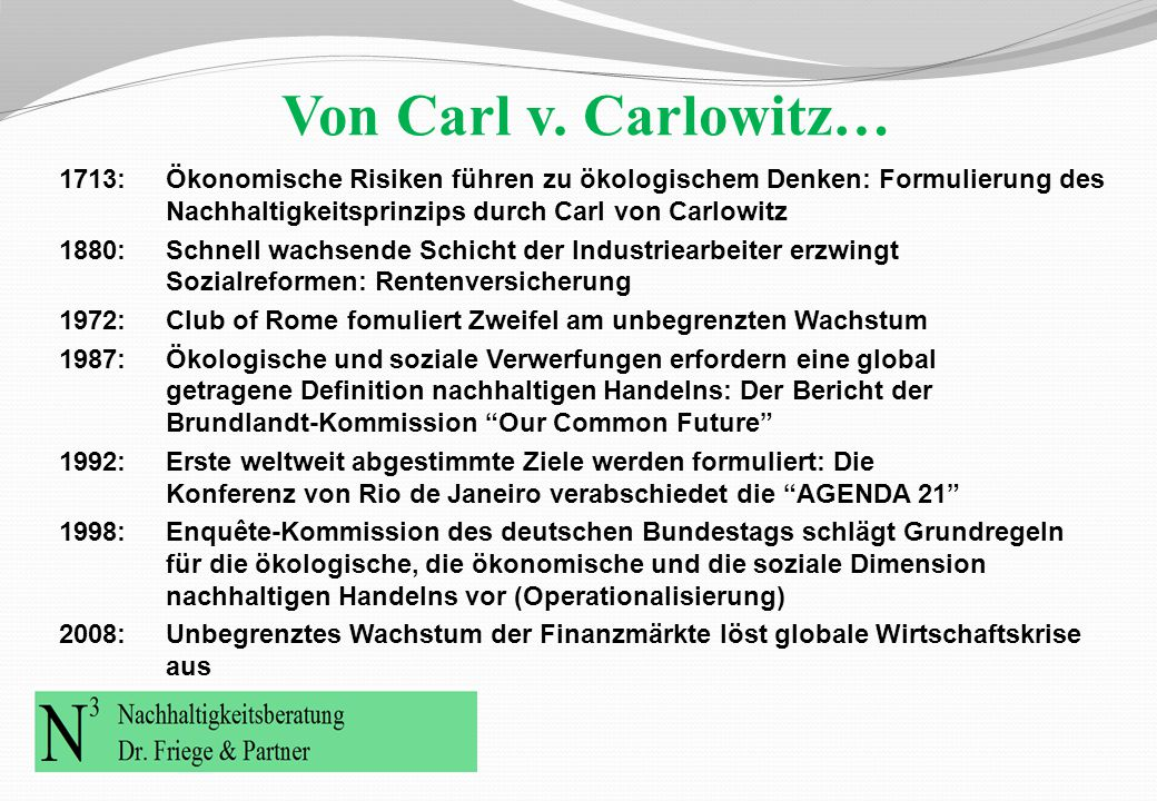 "… zum ""sustainable development"