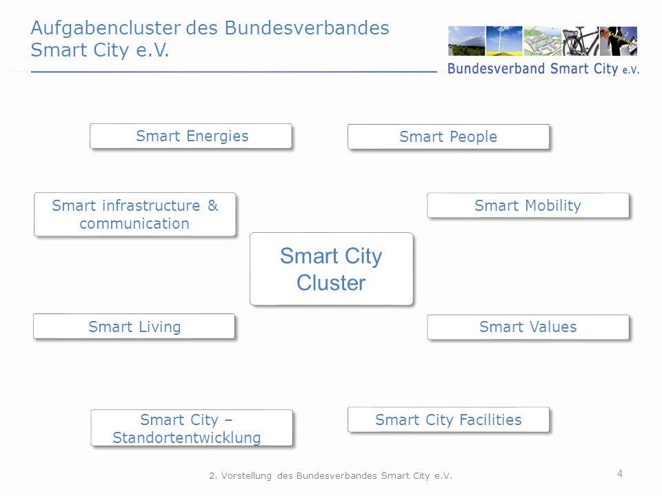 Smart City Cluster Aufgabencluster des Bundesverbandes Smart City e.V.