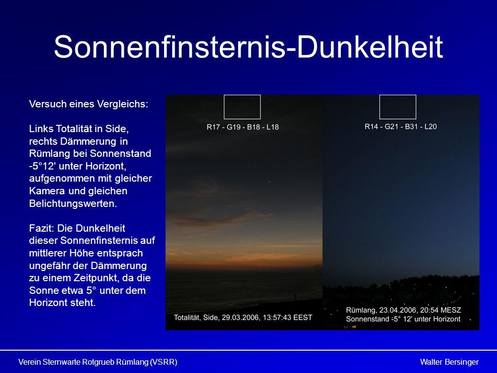 Sonnenfinsternis-Dunkelheit