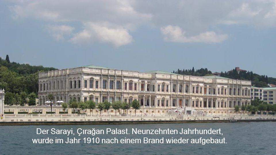 Der Sarayi, Çırağan Palast. Neunzehnten Jahrhundert,