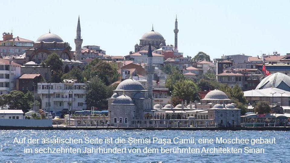 im sechzehnten Jahrhundert von dem berühmten Architekten Sinan