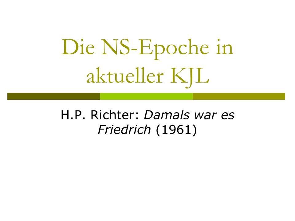 Die NS-Epoche in aktueller KJL