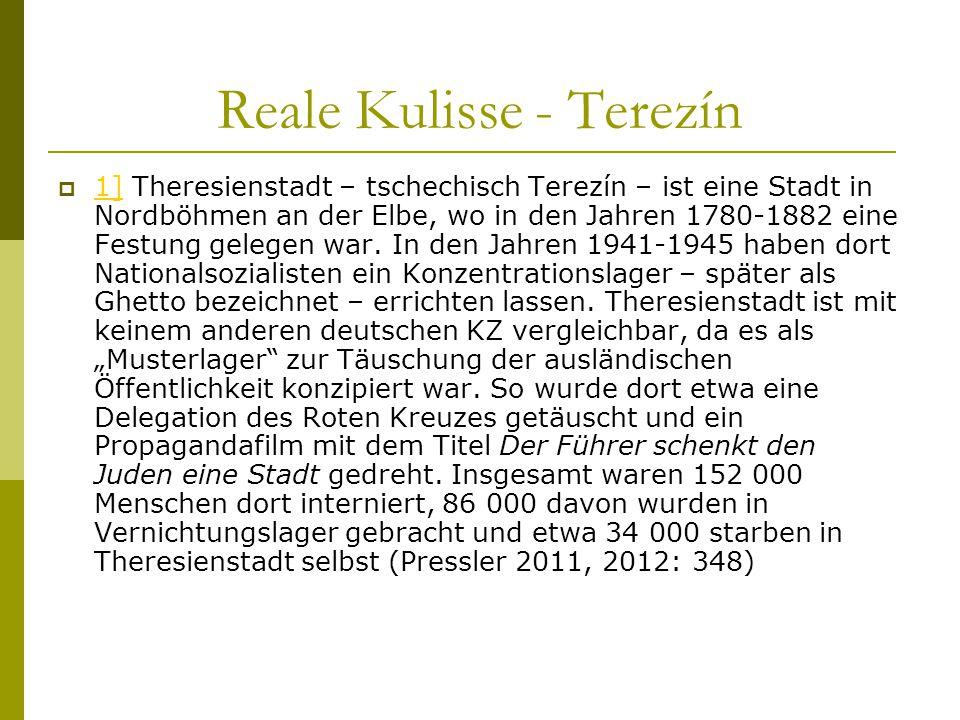 Reale Kulisse - Terezín