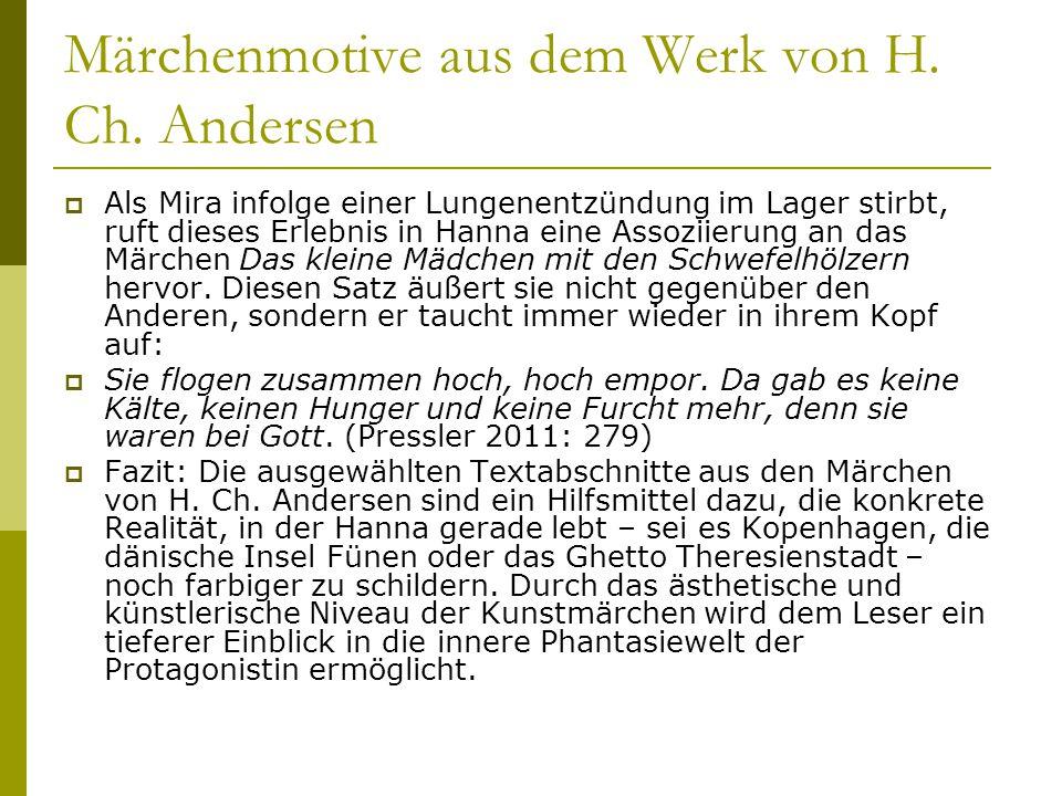 Märchenmotive aus dem Werk von H. Ch. Andersen