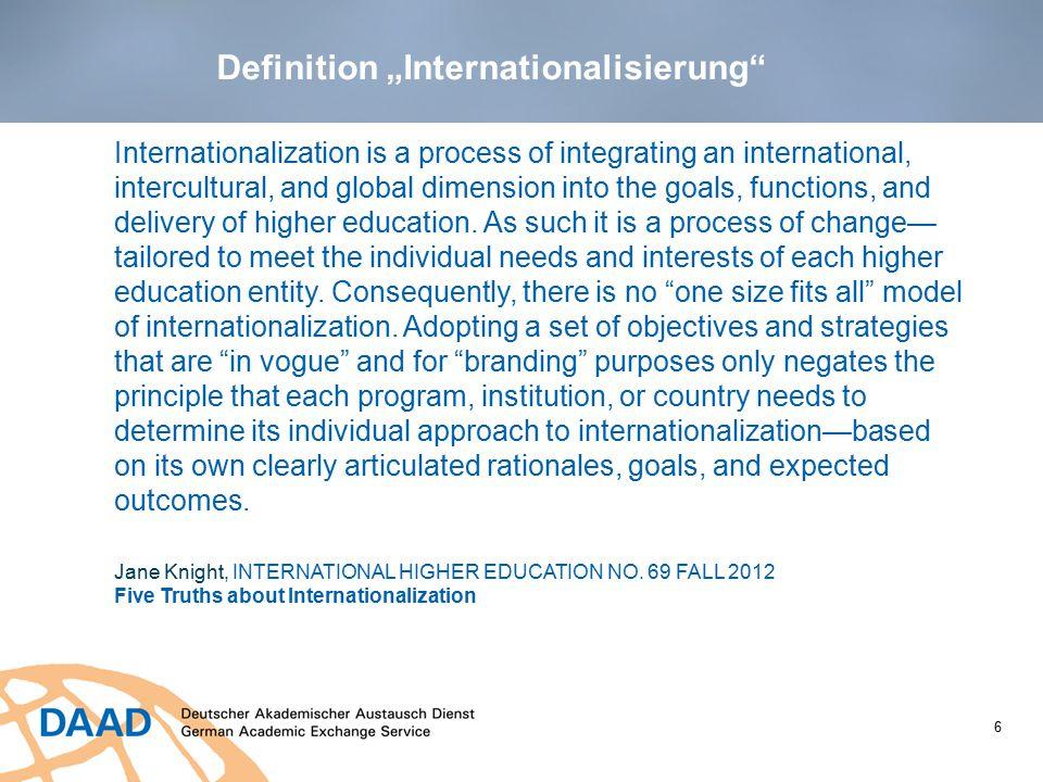 """Definition """"Internationalisierung"""