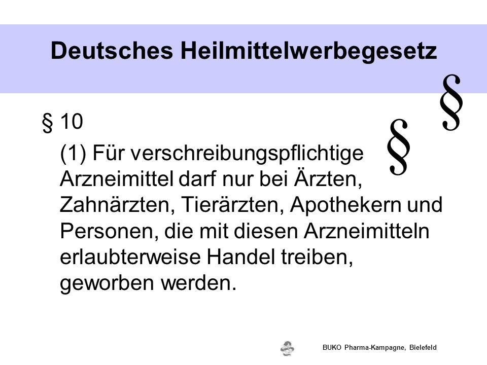 Deutsches Heilmittelwerbegesetz