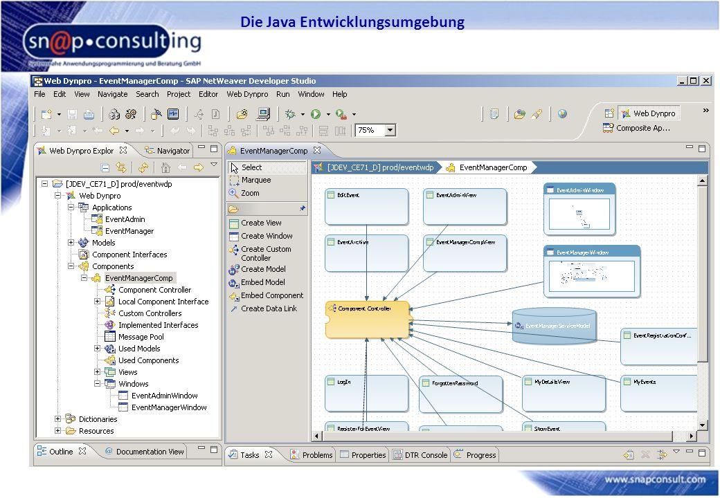 Die Java Entwicklungsumgebung