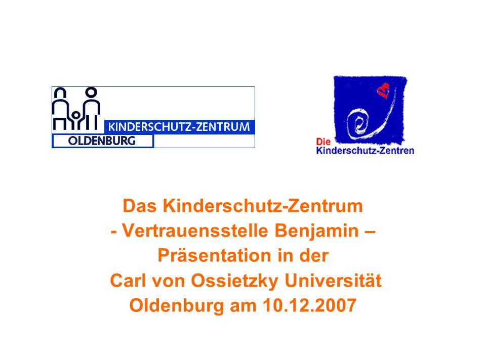 Das Kinderschutz-Zentrum - Vertrauensstelle Benjamin –