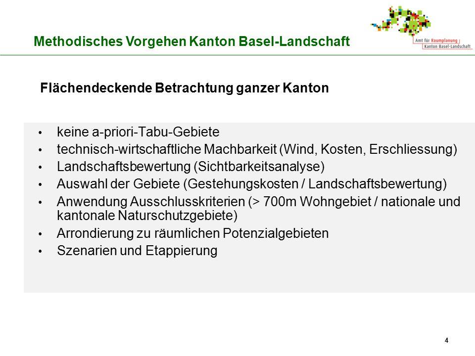 Methodisches Vorgehen Kanton Basel-Landschaft
