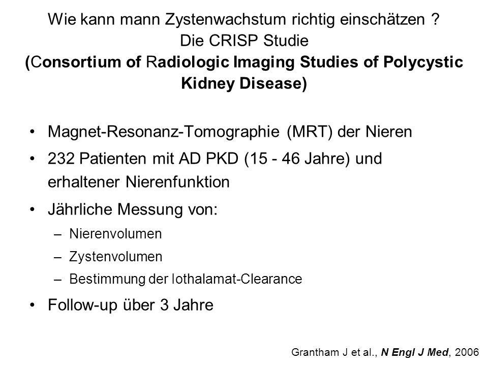 Magnet-Resonanz-Tomographie (MRT) der Nieren