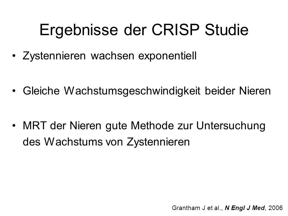 Ergebnisse der CRISP Studie
