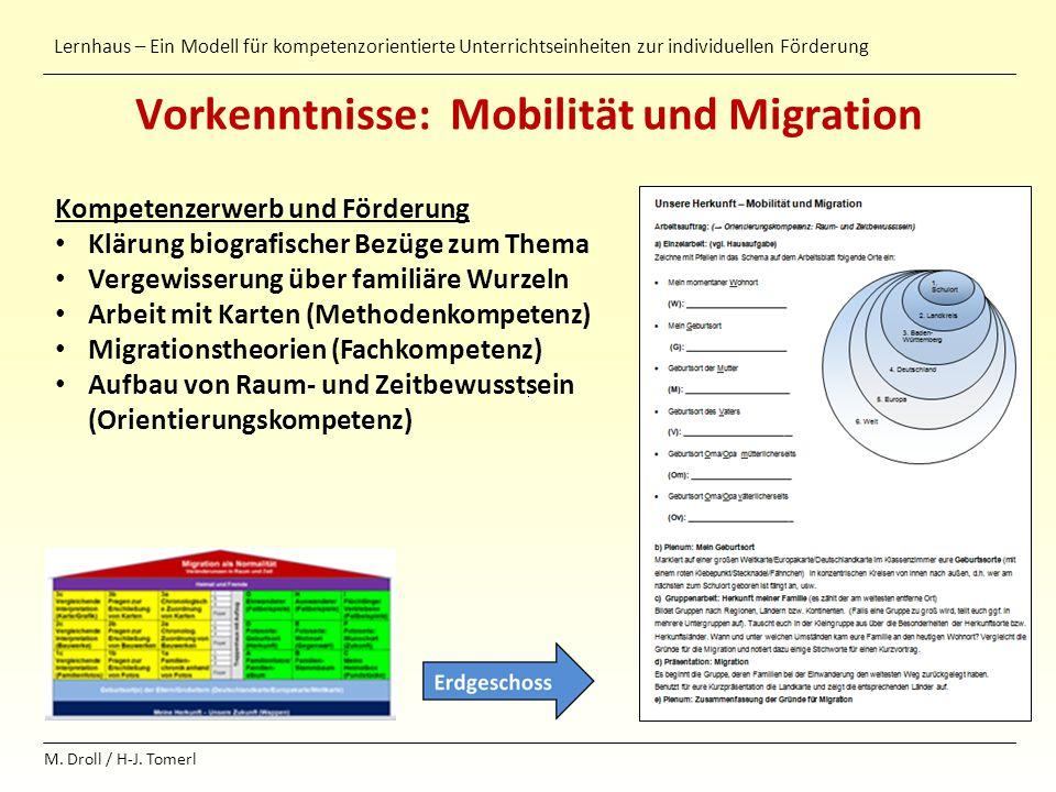 Vorkenntnisse: Mobilität und Migration